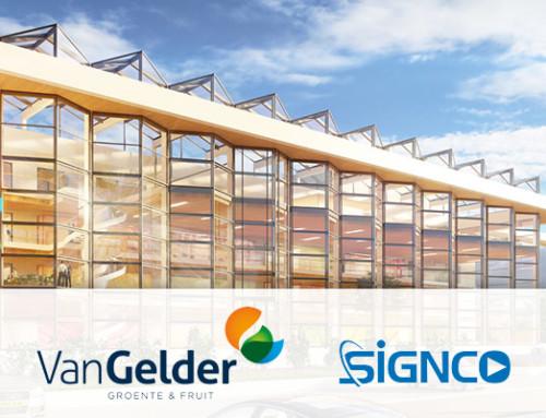 Van Gelder Groente en Fruit kiest Signco als Audiovisuele en ICT partner