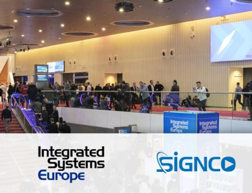 Ontdek samen met Signco Audiovisueel de nieuwste AV & ICT-innovaties tijdens de ISE 2020 te Amsterdam
