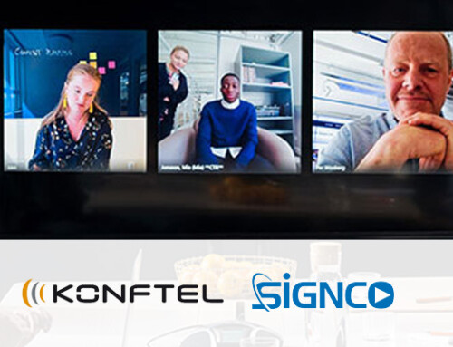 Signco Audiovisueel; Leverancier van Konftel Video Collaboration oplossingen
