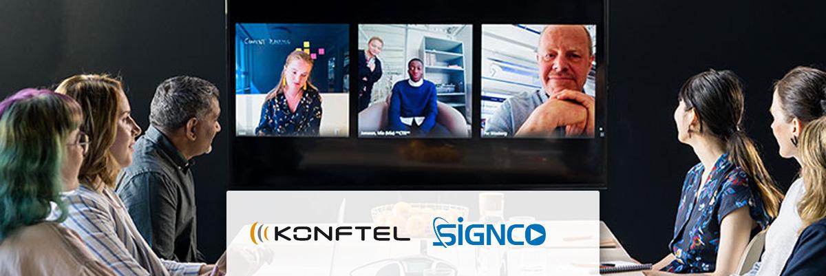 Signco Audiovisueel; Konftel Video Collaboration oplossingen
