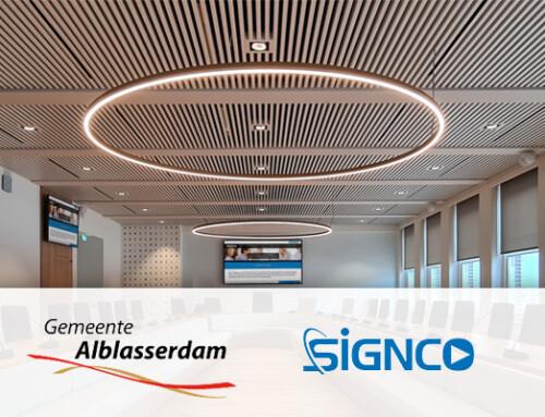 Signco Audiovisueel; AV & ICT partner gemeente Alblasserdam