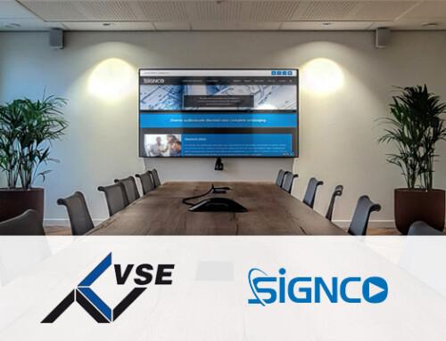 Ook VSE Industrial Automation kiest voor de AV en ICT oplossingen van Signco Audiovisueel