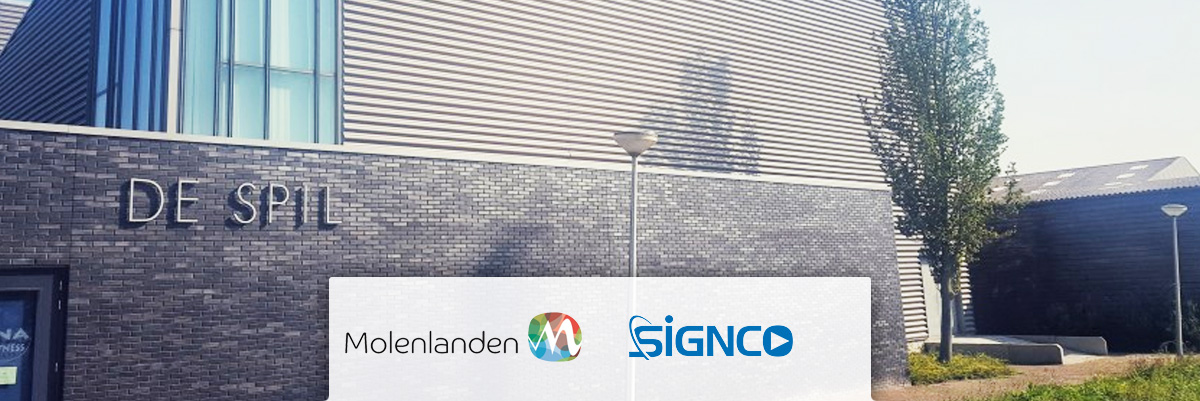 Gemeente Molenlanden kiest voor Signco Audiovisueel