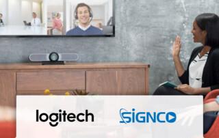 Signco leverancier van Logitech meetup